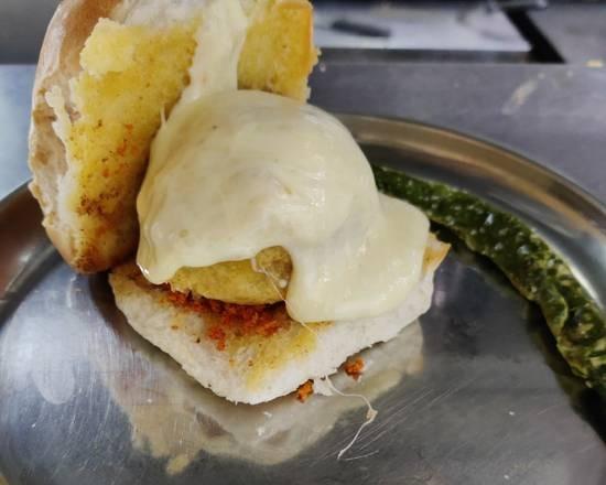 Cheese Vada Pav